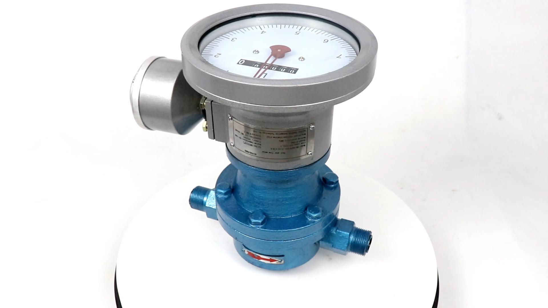 उच्च तापमान सकारात्मक विस्थापन बंकर तेल प्रवाह मीटर
