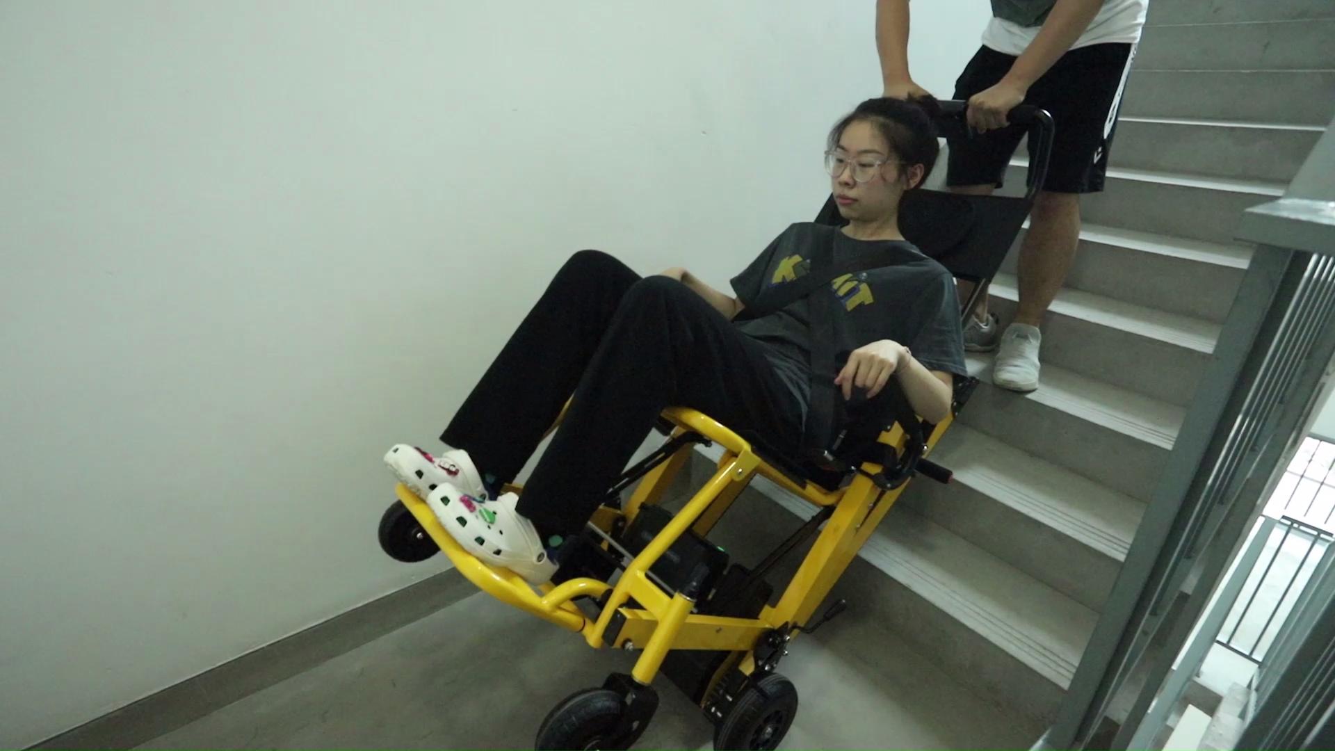 EA-6FPB Evacuação De Levantamento Elétrico Cadeira de Rodas Maca Escada de Subida para o Doente