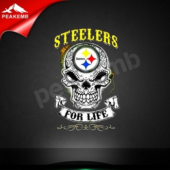 Heat Press Steelers For Life Design Printing Vinyl Transfer For T-shirts