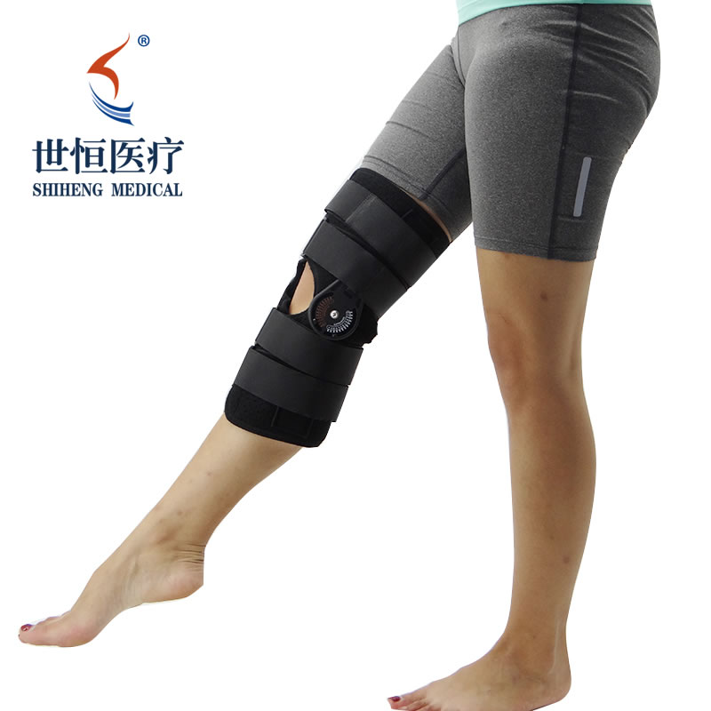 Manufacturer professional orthopedic leg brace foot supporter with low price grey color