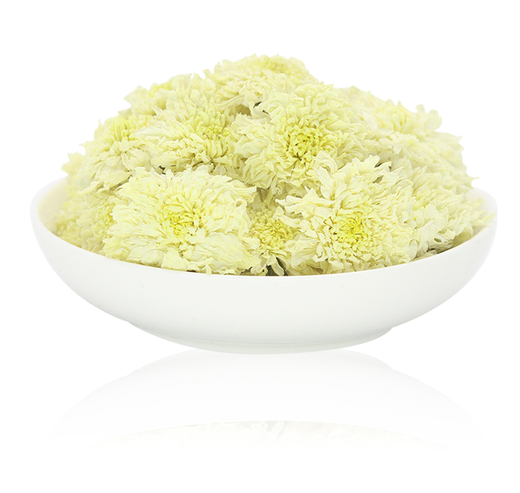 white chrysanthemum tea, dried flower tea - 4uTea | 4uTea.com