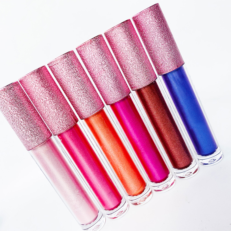 Rápido etiqueta personalizada niños brillo de labios de niño resaltador cómo hacer brillo alta calidad con precio de fábrica