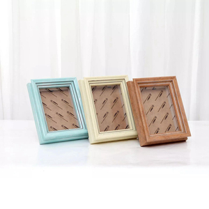 Wholesale hot mdf blue shadow photo picture frames made in China