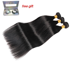 9A Indian Straight Hair Virgin Bundles High Grade Remy Raw Unprocessed