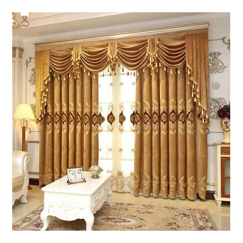 Готовые магазина отель дизайн гостиной спальня дешево Европейский Ткань для защиты от солнца для штор