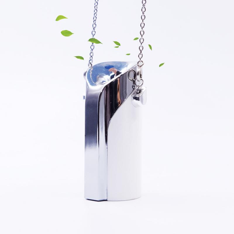 เป่ยหยวน Smart USB Mini แบบพกพาสวมใส่รถเครื่องฟอกอากาศ
