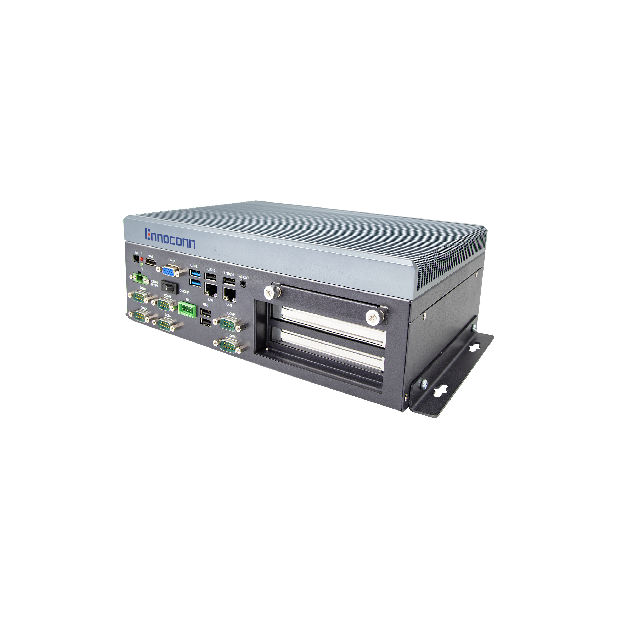 Fanless embedded industrial computer i3-6100u 4g ddr4 256g ssd CES-E610-W26A-8225