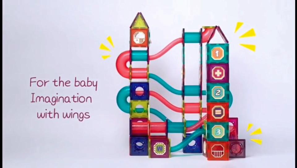 Trẻ Em Gốc Đồ Chơi 270 Pcs Rõ Ràng 3D Xây Dựng Từ Khối Đặt Đồ Chơi Giáo Dục Khối Bộ Trẻ Em Từ Gạch