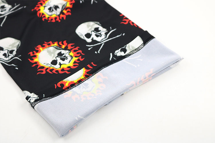 Sublimation custom logo neck gaiter multifunctional sport neck gaiter bandana scarf
