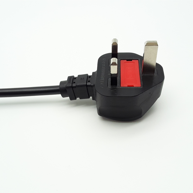 HF 3-prong pin AC <strong>Power</strong> <strong>Cord</strong> 3 pin plug <strong>Cable</strong> to Cloverleaf Plug for PC socket inserts electric ac adapter uk plug