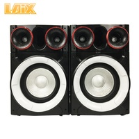 Laix LX-S18 Professional Active Stage Speaker with Disco Light BT PA System Karaoke 8 inches Bass Party Multimedia Speakers