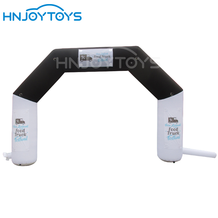 Start Finish Line Inflatable Arch Outdoor Custom Advertising Inflatable Entry Arch Balloon for Sport