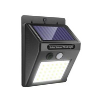 30 LED Solar Lights Outdoor Solar Powered Security Light Wireless Waterproof Motion Sensor Outdoor Wall Light