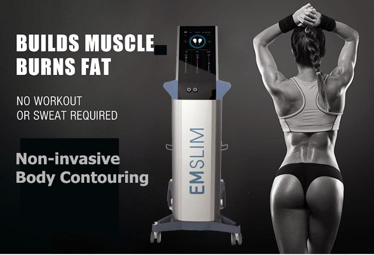 Fastest fat reduce equipment ems body sculpting slimming magnetic muscle stimulator ElectroMagnetic Sculpt Muscle machine