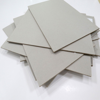 1500--2300g Dongguan Packaging Paper Chipboard Grey Chipboard Grey Cardboard Laminated Grey Board Paper