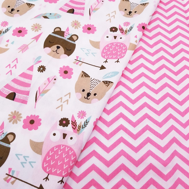 Kids 100% Cotton stocklot textile Material Fabric for sewing baby Bed quilting Tissue