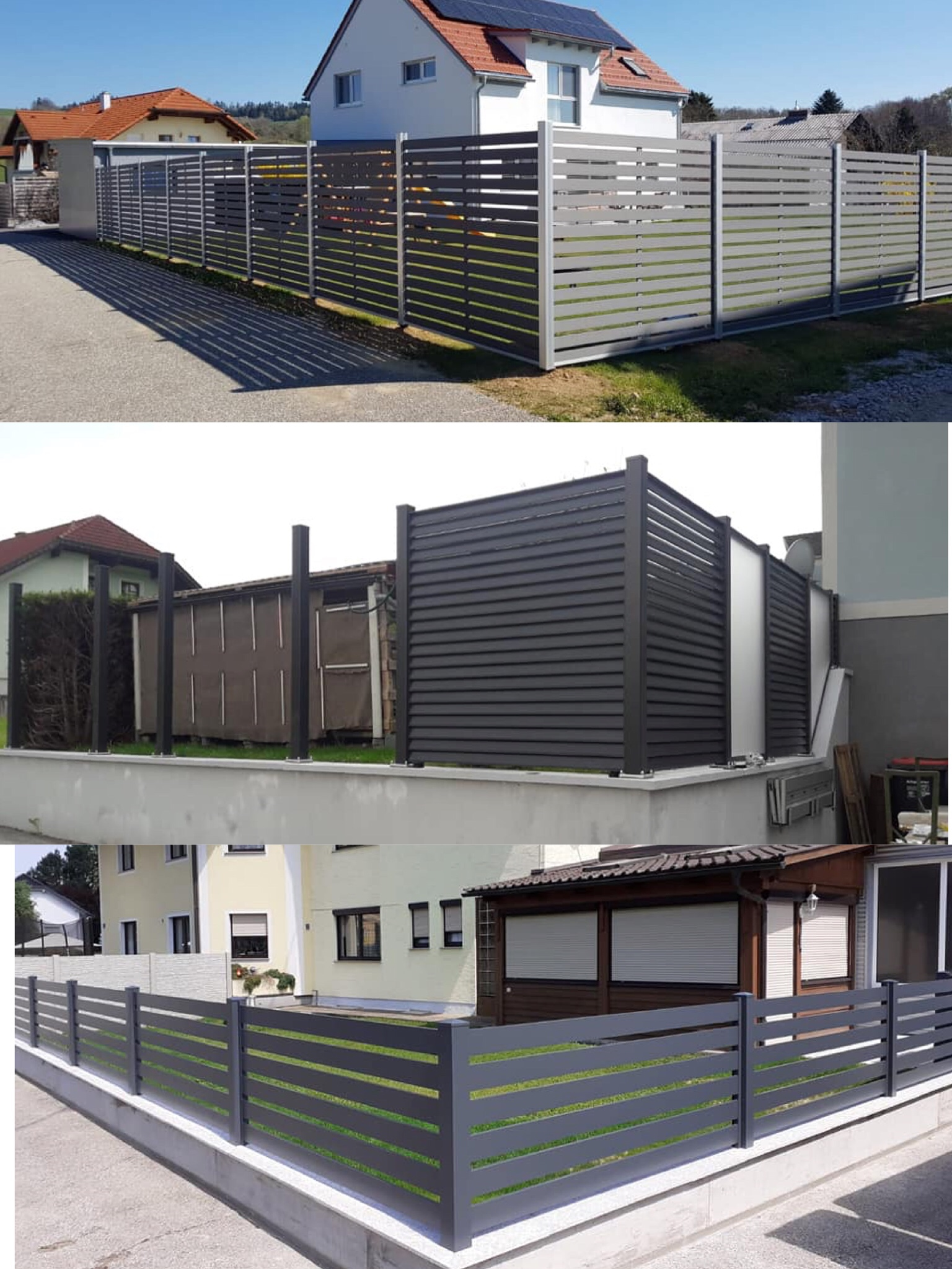 Hot Sale Construction WPC Fencing
