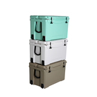Wholesale Custom Logo 25qt/35qt/50qt/75qt Food Grade Fishing Insulated Cooler Box/ Rotomolded Cooler Box