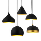 Wholesale frosted custom lamp shade black lamp shade