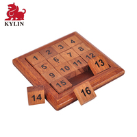 Wooden Digital Platter Puzzle Classical Number Puzzle Toys Brain Teaser Puzzle Toy Digital Game