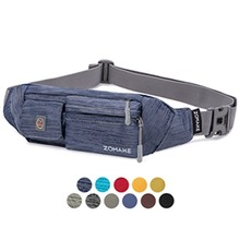 Поясная Сумка Zomake Waterfly из мягкого полиэстера, тонкая водостойкая поясная сумка для мужчин и женщин, сумка для переноски iPhone 8 Samsung S6(Китай)