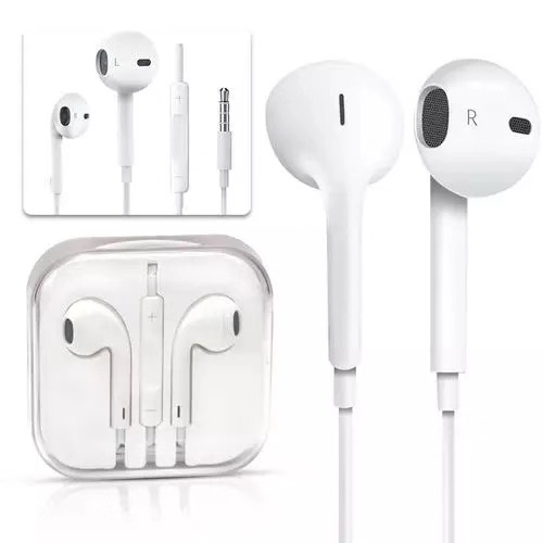 Gratis Pengiriman 3.5 Mm Wired Stereo Bass Earphone Mikrofon Earbud In-Ear Gaming Headset untuk iPhone 6 6S Earphone
