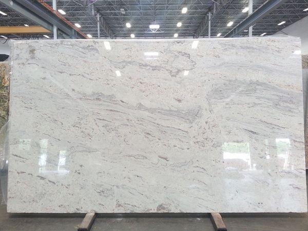 New River White Granite Slab Granit