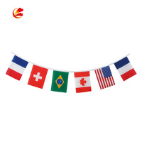 Hot Sale Different Types felt pennant ceiling string flags Pvc Outdoor String Bunting flag Banner