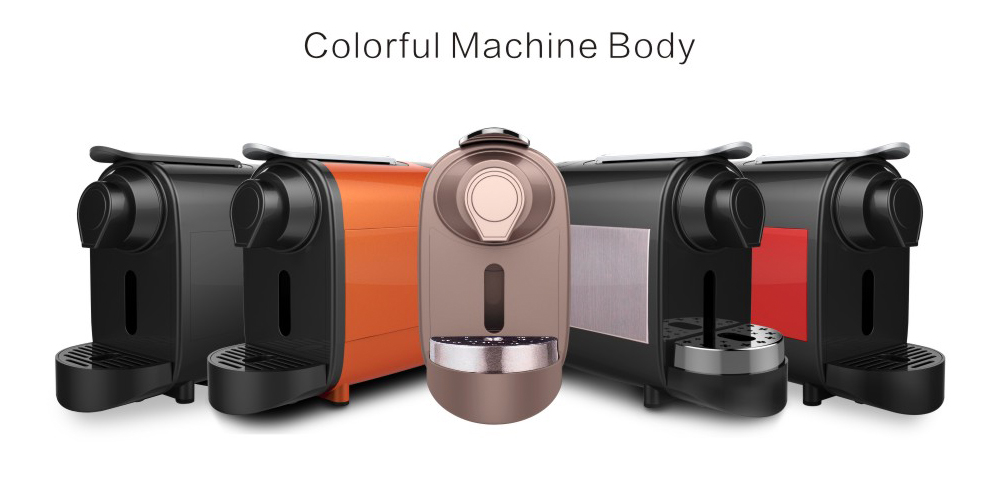 Hot populaire CE mini expresso capsule koffiezetapparaat machine
