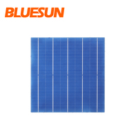 Canadian pv poly perc 5bb half cut 156mm photovoltaic polycrystalline solar cells for sale