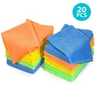 Soft Microfiber Cloth Microfibre Cleaner Kitchen Cleaning Items