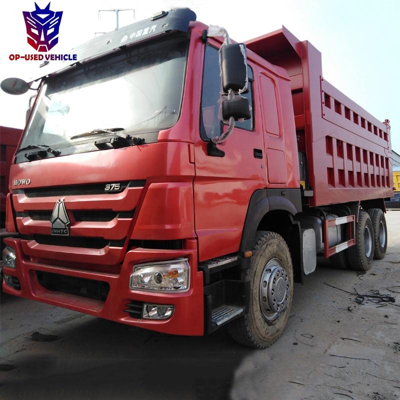 used sino sinotruck howo dump tipper truck