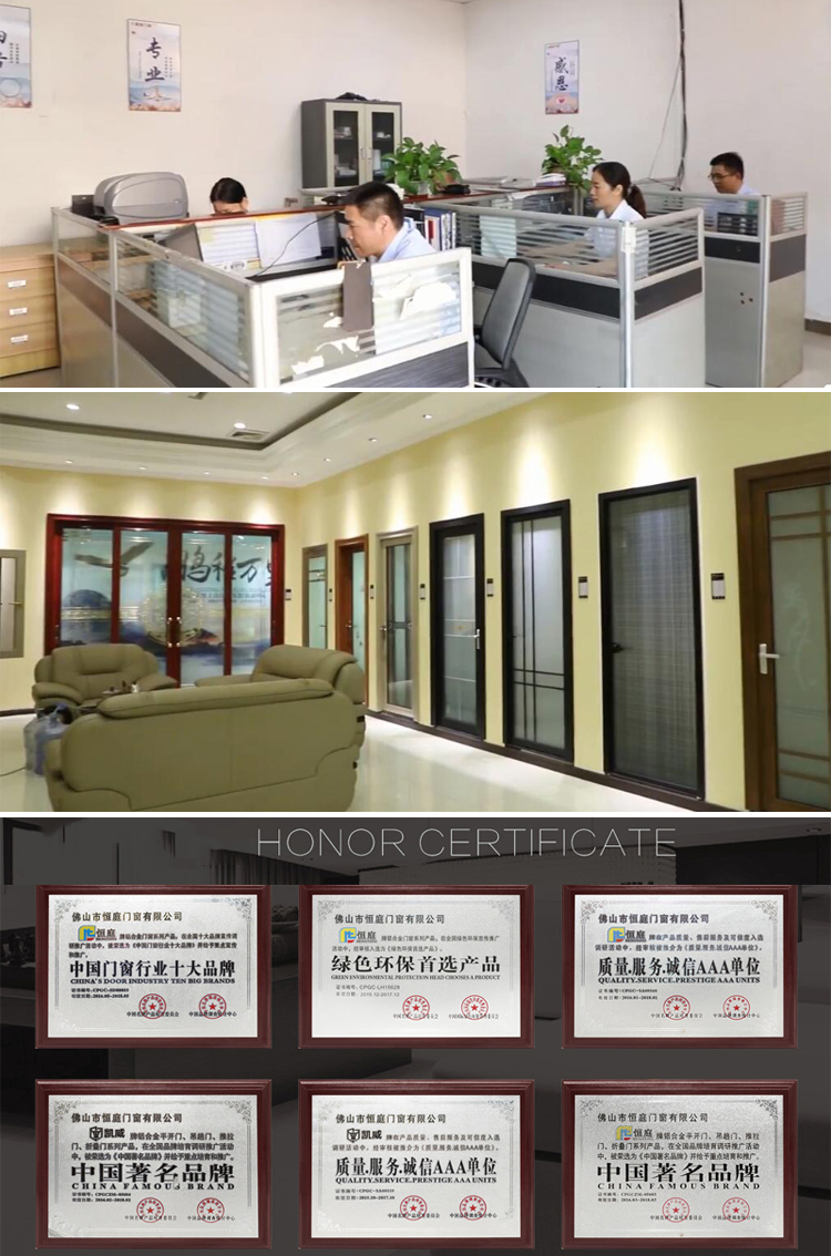 customized heavy duty hydraulic sliding door lifting system sliding hotel Automatic door slip