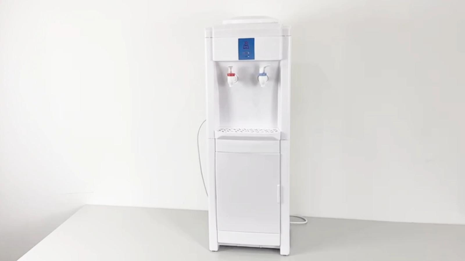 Dispensador de agua eléctrico piso de alta calidad máquina de hielo dispensador de agua caliente