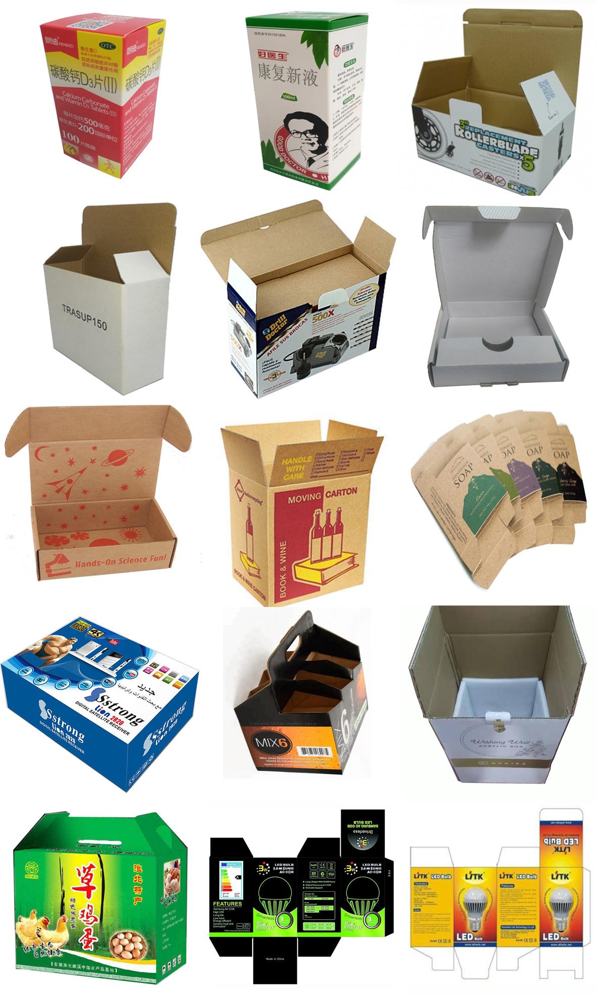 Пользовательские размер и логотип почтовая упаковка доставка гофрированная картонная коробка