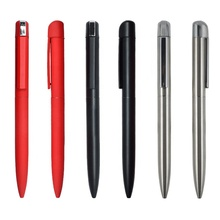 Hot Sale matte color  Metal Ballpoint Pen With Custom Logo