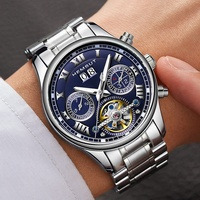 Student Time Display High Accuracy Fully Automatic Men Wristwatches