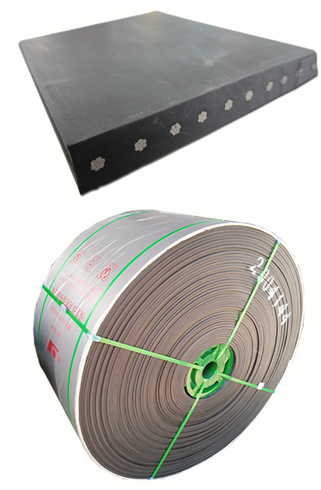 DIN K ST 1250N/mm Fire Resistant Steel Cord Conveyor Belt on Sale