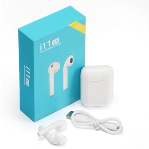 Hot Selling Ebay i11 V5.0 TWS Stereo Earbuds Mini wireless earbuds Mini Blue tooth earbuds