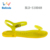 High Quality Flat Jelly Beach Summer Wholesale Women PVC Flip Flop Sandal