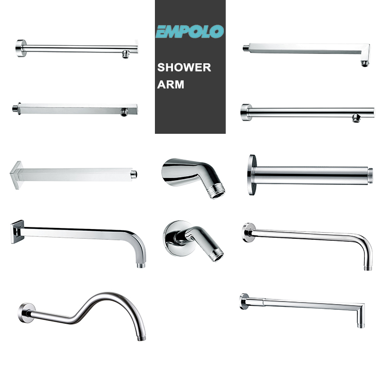 China Bathroom Accessories Stainless Steel Shower Arm