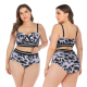 2019 tankini two pieces Swimwear Fashion Women Sexy Bikini Plus Size Swimwear