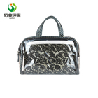 customizable eco friendly pvc make up bag transparent for women
