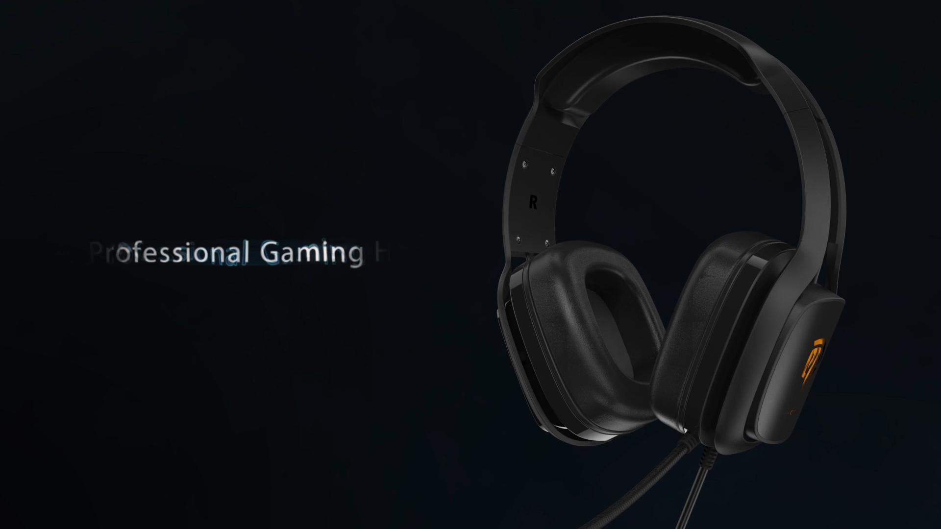 Easysmx c06 novo design melhor fone de ouvido oem para jogos