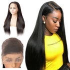 100 Human Hair Lace Front Wig,Remy Virgin Full Lace Wigs Human Hair,Straight Body Weave Human Hair Wigs For Black Women