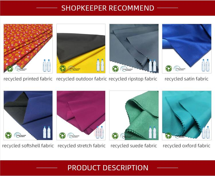 Imperméable 100% polyester 300t taffetas tissu imprimé écologique microfibre polyester taffetas imperméable fabricant de tissus