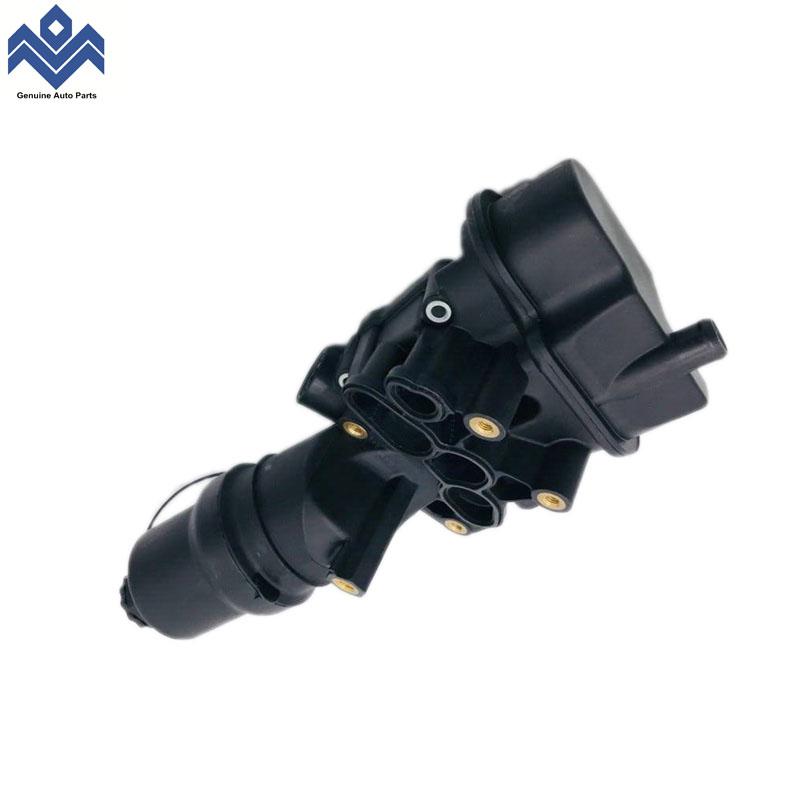 Yağ filtre yuvası filtre kapağı volkswagen 2.0 için 06D115397K 06D115397J