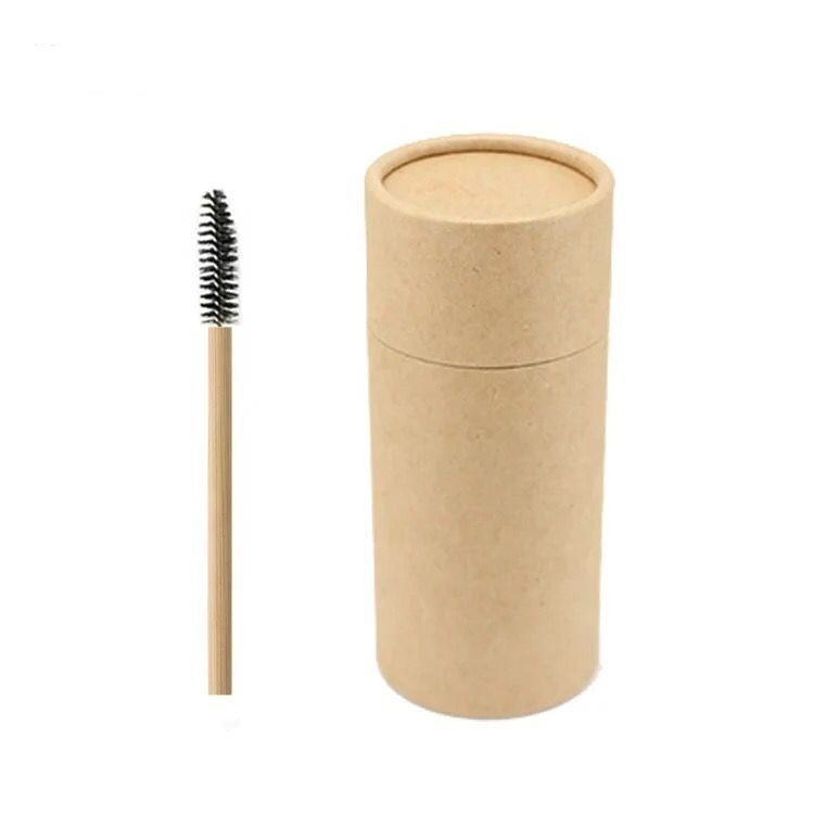 Best price Private label Colorful Eco Bamboo Eyelash mascara Brush with bamboo stick