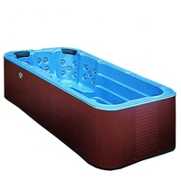3.8 Meter above ground swimming pool spa Indoor swimming pools for sale