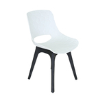 Plastic Chairs Chair Plastic Plastic And Wood Chair Bazhou Hot New Fashion Plastic Chairs With Wooden Legs Furniture Dining Chair